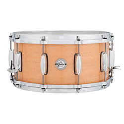Gretsch Silver Series Snare Drum in Natural Maple Finish - 14 x 6.5""