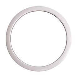 "Gibraltar Port Hole Protector 5"" White Finish - Pk 1"