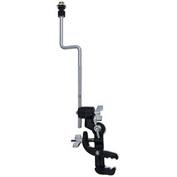 Gibraltar Double Ratchet Microphone Jaw Mount Clamp with Rod