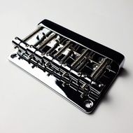 GT Bass Bridge with Brass Saddles in Chrome Finish (5-String)
