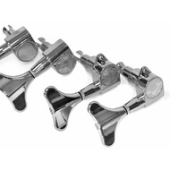 GT Electric Bass Guitar Sealed Tuning Machines in Chrome Finish (2+2)