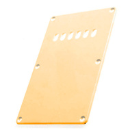 GT ABS Tremolo Spring Cover Back Plate with Holes in Ivory (Pk-1)