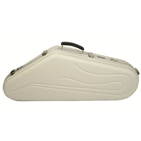 Hiscox Artist Series Tenor Saxophone Case in Ivory