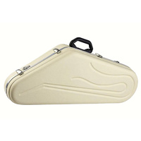 Hiscox Pro-II Series Tenor Saxophone Case in Ivory