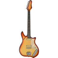 "Hagstrom ""Taylor York"" Impala Retroscape Guitar in Copperburst"