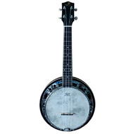 J.Reynolds Concert Banjo Ukulele with Resonator in Tobacco Burst Gloss