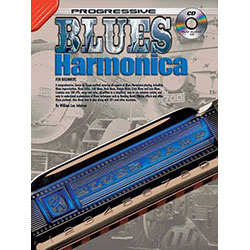 Progressive Blues Harmonica Book/CD