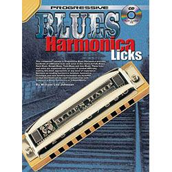 Progressive Blues Harmonica Licks Book/CD