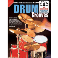 Progressive Drum Grooves Book/Online Video & Audio