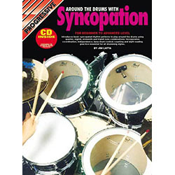 Progressive Around The Drums with Syncopation Book/CD