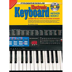 Progressive Keyboard Method 2 Book/CD