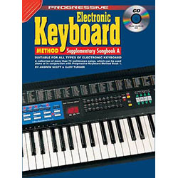 Progressive Keyboard Method Supplementary Book/CD