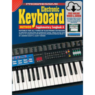 Progressive Keyboard Method Supplementary Book/Online Video & Audio