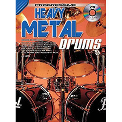 Progressive Heavy Metal Drums Book/CD