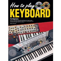 How To Play Keyboard for Beginners Book/CD/DVD