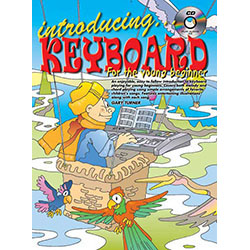 Introducing Keyboard for The Young Beginner Book/CD