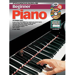 Progressive Beginner Piano Small Book/DVD