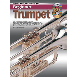 Progressive Beginner Trumpet  Book/CD/DVD