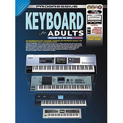 Progressive Keyboard for Adults Book/CD/DVD(2)/DVD-Rom