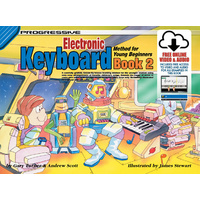 Progressive Keyboard Book 2 for Young Beginners Book/Online Video & Audio