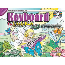 Progressive Keyboard Book 3 for Little Kids Book/CD