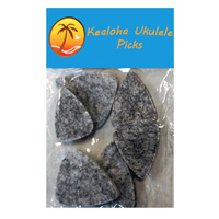 Kealoha Felt Ukulele Picks Assorted Sizes Pk-6