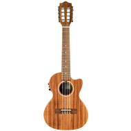Lanikai Acacia Series 8-String Tenor AC/EL Ukulele in Natural Satin Finish