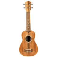 Lanikai Acacia Series Soprano Ukulele in Natural Satin Finish