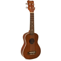 Kohala Akamai Series Soprano Ukulele in Natural Satin Finish
