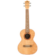 Lanikai Flamed Maple Series Tenor Ukulele in Natural Satin Finish
