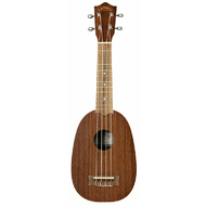 Lanikai Mahogany Series Pineapple Ukulele in Natural Satin Finish