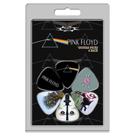 Perris 6-Pack Pink Floyd Licensed Guitar Pick Packs