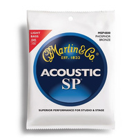 Martin Acoustic Bass Light Gauge String Set (45-100)