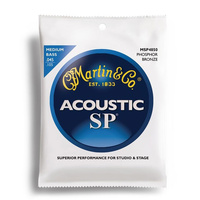 Martin Acoustic Bass Medium Gauge String Set (45-105)