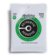 Martin Authentic Acoustic Marquis Silked 92/8 Phosphor Bronze Extra Light 12 String Guitar String Set (10-47)