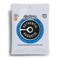 Martin Authentic Acoustic SP 92/8 Phosphor Bronze Light/Medium Guitar String Set (12.5-55)