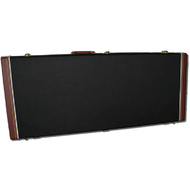 "MBT Wooden ""BC Rich Beast"" Bass Guitar Case in Black/Brown"