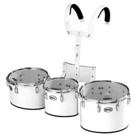 Peace Marching Drum Trio Set with Carrier