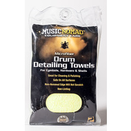 Music Nomad Microfiber Drum Detailing Towels 2-Pack
