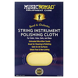Music Nomad Untreated Polish Cloth For Violins, Viola, Cello & Bass