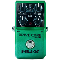 NU-X Core Stompbox Series Drive Core Deluxe Blues Driver Effects Pedal