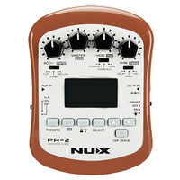 NU-X Portable Series PA-2 Acoustic Guitar Multi-FX Unit