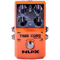 NU-X Core Stompbox Series Time Core Deluxe Delay Effects Pedal