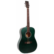 Odessa Acoustic Guitar in Green Semi-Matte Finish