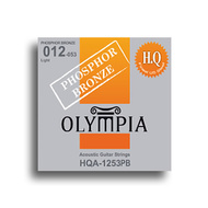 Olympia HQ Series Phosphor Bronze Light Guitar String Set (12-53)