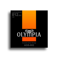 Olympia SQ Series Phosphor Bronze Light Guitar String Set (12-53)