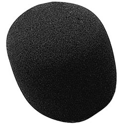 On Stage Black Foam Microphone Windscreen Pk-1