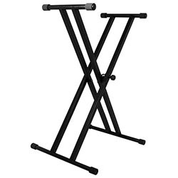 On Stage Classic Double X-Braced Keyboard Stand