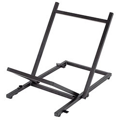 On Stage Folding Tiltback Amp Stand for Medium to Large Amps