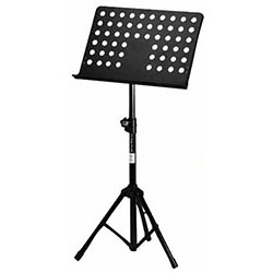 On Stage Orchestral Sheet Music Stand with Holed Bookplate
